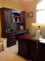 Credenza with Hutch and Executive Desk from Michigan Customer