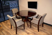 Round Conference Table and Chairs Set, Scottsdale Arizona Customer's Office